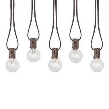 Decorative G40 Bulb Light String (Set of 20) - BedBathandBeyond.com