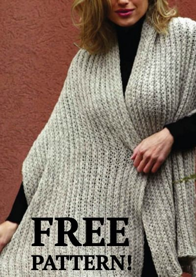 This simple Crochet Classic Shawl is a great weekend project to keep you warm. FREE pattern!