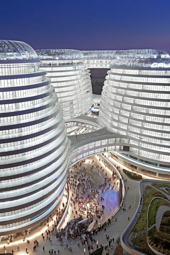 Zaha Hadid Architects, Iwan Baan, Hufton + Crow · Galaxy Soho · Divisare
