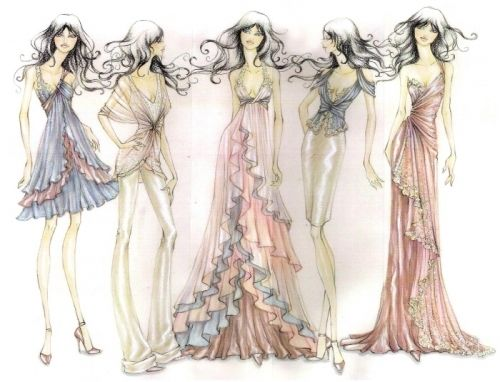 Amazing Fashion Design Sketches | Dress sketches, Fashion design ...