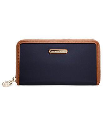 MICHAEL Michael Kors Handbag, Kempton Zip Around Continental Wallet - Accessories - Handbags & Accessories - Macy's
