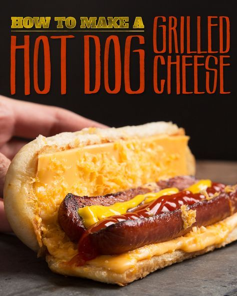 Hot Dog Grilled Cheese