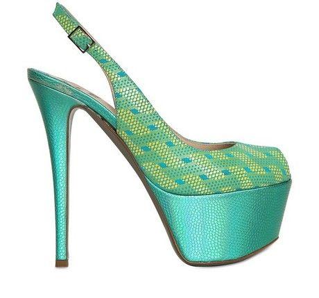 ~~ Shiny Calfskin Sandals ~~ Ernesto Esposito