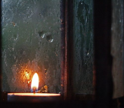 All around the world, candles in the window serve to guide wanders home for Christmas.: