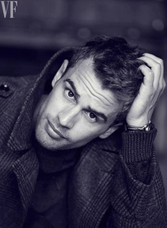 "Photos: Theo James, Divergent Star, Plays Shailene Woodley's ""Real Man"" Love Interest | Vanity Fair"