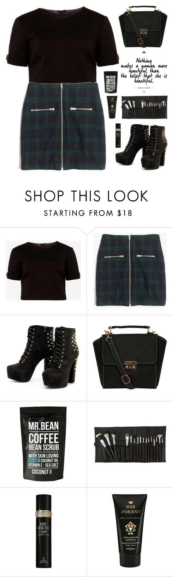 """""""Dark shades"""" by nueova ❤ liked on Polyvore featuring Ted Baker, Madewell, Pilot, Elizabeth Taylor and Sisley"""