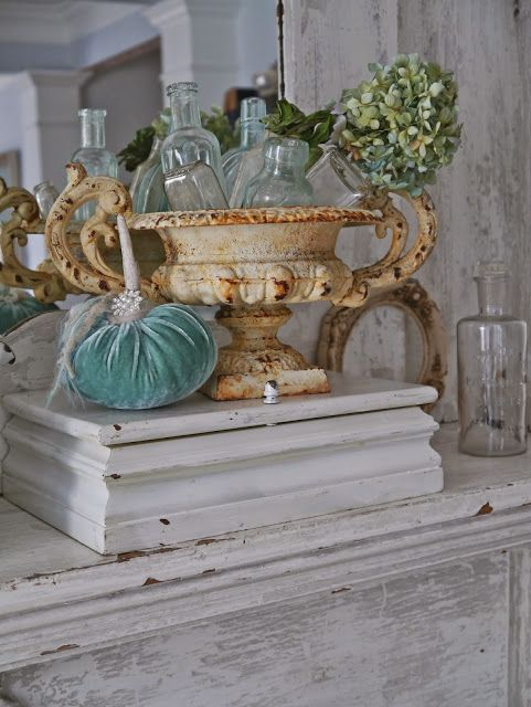 Gorgeous French fall Autumn decorating French Country shabby chic