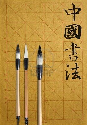 Chinese calligraphy brush pens creativity Chinese calligraphy pens