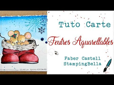 Tuto Feutres Aquarellables Youtube Feutre Aquarelle Faber