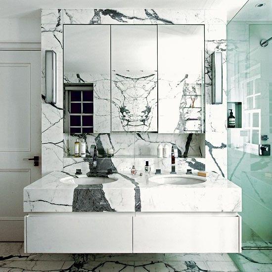 bathroom marmor