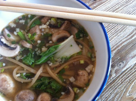 Anything goes (in the pot): Asian inspired soup