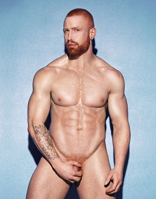Sexiest naked male red heads