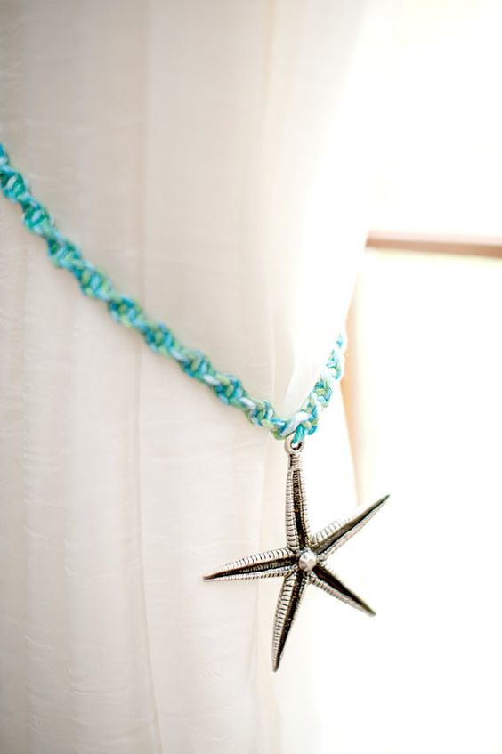Summer Decorating Starfish And Macrame On Pinterest