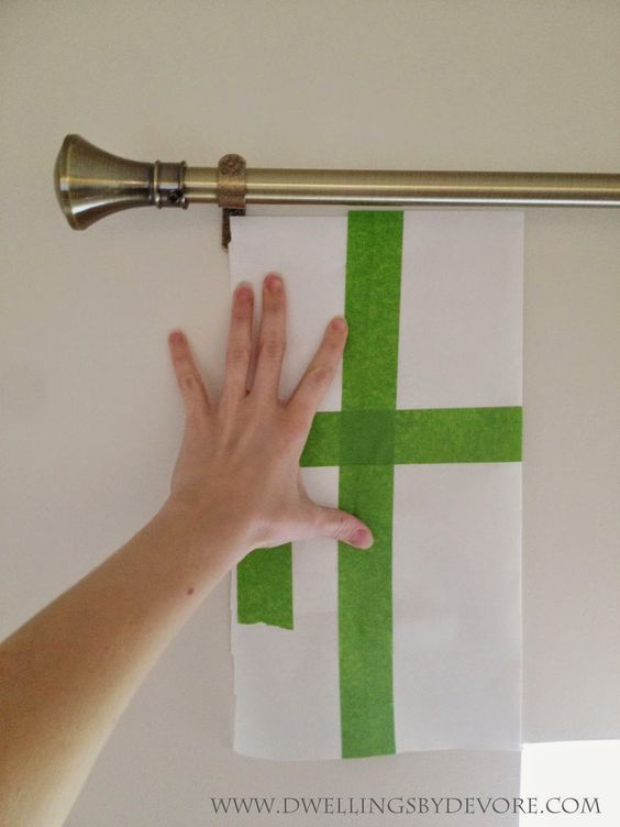 Curtain Rods best way to install curtain rods : Make a template to hang curtain rods the same although I'd have to ...