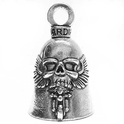 Guardian/® American Pit Bull Terrier Dog Motorcycle Biker Luck Gremlin Riding Bell or Key Ring