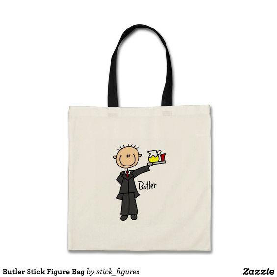 Butler Stick Figure Bag