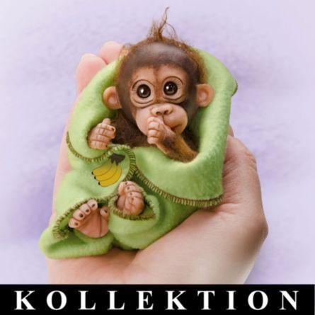 Knuddelige Affenpäckchen