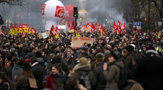 CNA: Vuelven los Disturbios y las Protestas contra la Reforma Laboral en Francia