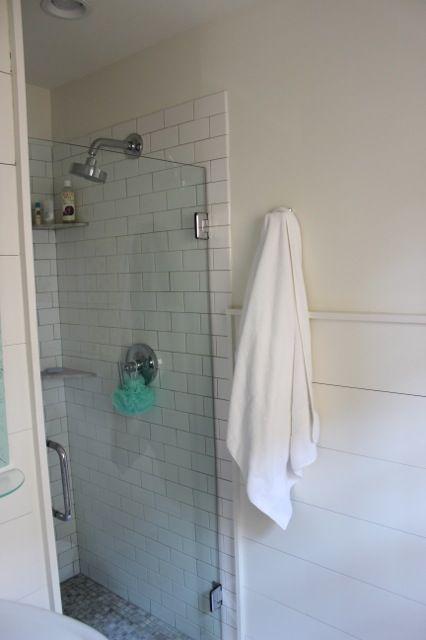 Frameless Shower Shower Fixtures Tile Showers Stall Shower Plank Walls