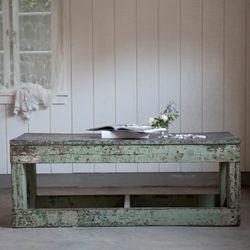 Green Coffeeish Vintage Table