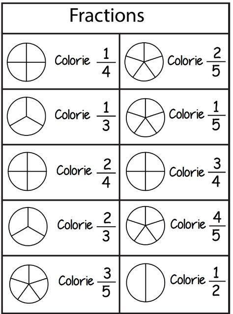 Pin On Matematika Fraction worksheets first grade