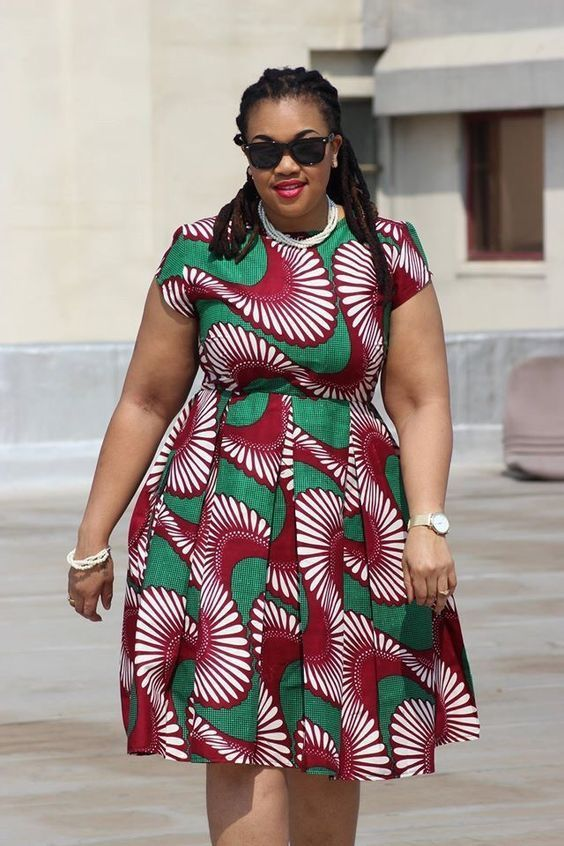 AFRICAN ATTIRE DRESSES FOR PLUS SIZE LADIES
