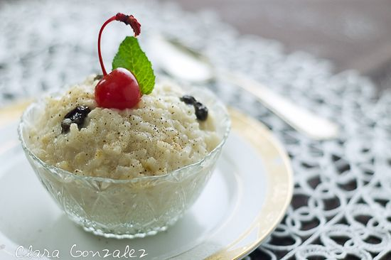 Rice pudding (arroz con leche)