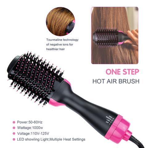 2 In 1 One Step Hair Dryer Volumizer Geniemania Hair Dryer Brush Hair Blow Dryer Hair Dryer