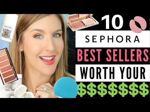 10 Sephora Best Sellers That Are Worth Your Money 2020 Youtube Sephora Opi Lets Be Friends Makeup Over 40