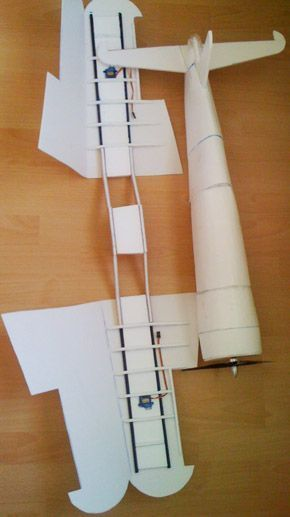 Corsair Aus Depron Mit Pdf Bauplan Modellbau Flugzeuge Planer Mercedes Stern