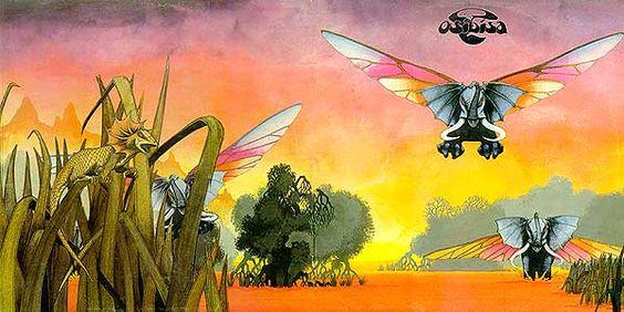 Roger Dean cover art for Osibisa
