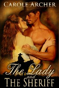 The Lady and the Sheriff by Carole Archer http://www.stormynightpublications.com/lady-and-sheriff/ Publisher's Note: The Lady and The Sheriff contains non-consensual spankings of an adult woman, including domestic discipline in a historical setting. If such material offends you, please don't buy this book.