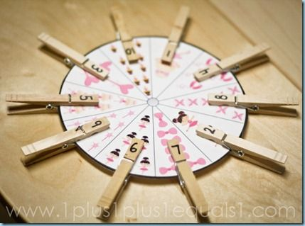 Love these various clothespin clipping activities