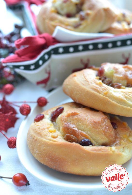 Chiocciole di Natale, dolcetti morbidi e fragranti ideali per la colazione. E' un piacere alzarsi la mattina!