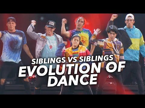 Evolution Of Dance Ranz And Niana Ft The Williams Fam Youtube Ranz Kyle Juju On That Beat Dance
