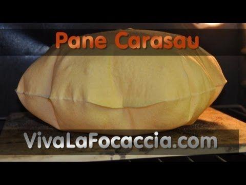 Ricetta Pane Carasau (Carta da Musica) Fatto in Casa - YouTube