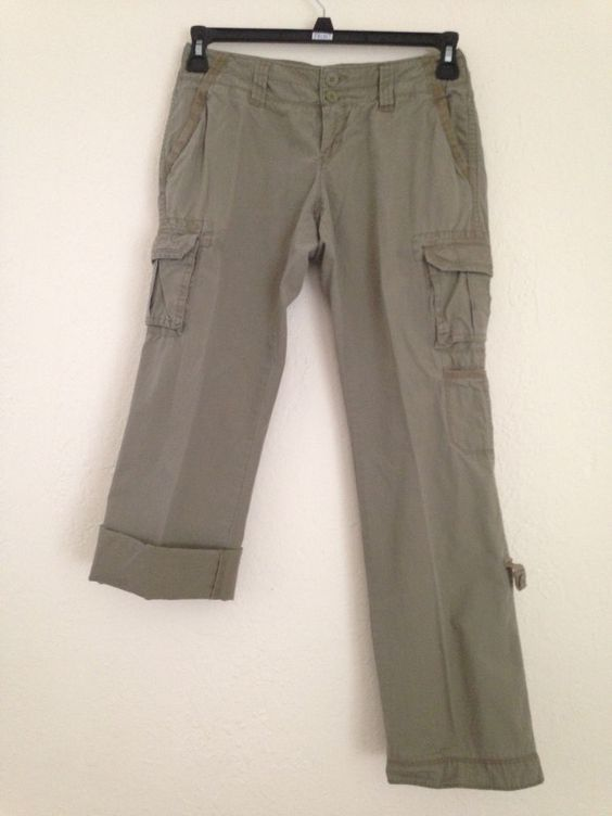 Simple  For THEORY WOMENS CROPPED HOULIHAN LOW RISE SKINNY CARGO PANTS  EBay