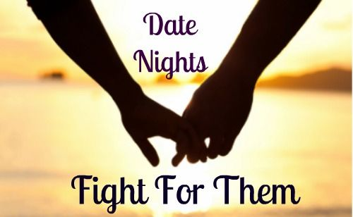 Fighting for that intentional date night time is one of my priorities this month. // GREAT REMINDER!!!