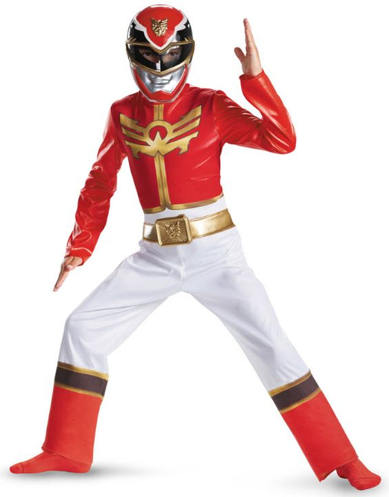 Red Power Ranger Costume - Groups & Themes