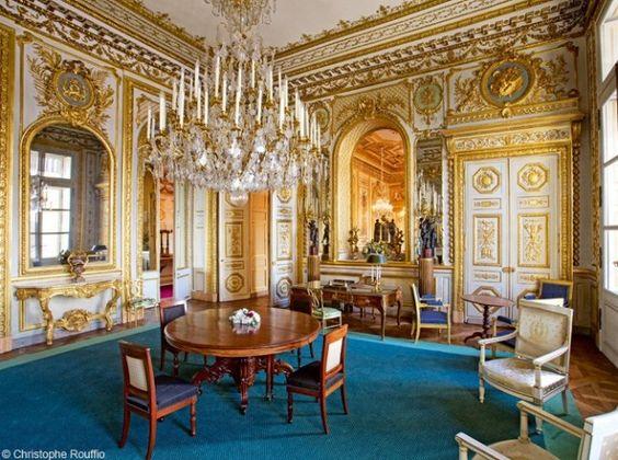 Salon de l 39 h tel de la marine place de la concorde paris visite joyau - Salon de la deco paris ...