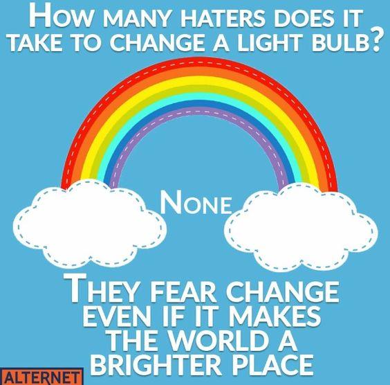 Quantas Pessimistas são necessários para mudar uma lâmpada? NENHUM...