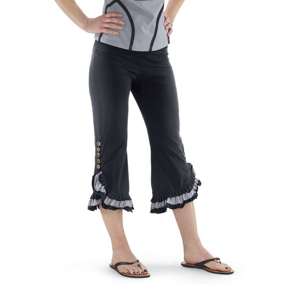 Button-Trimmed Pants - Women's Clothing & Symbolic Jewelry – Sexy, Fantasy, Romantic Fashions