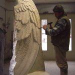 Skulpturen aus Holz und Stein  Siegfried Burgstaller  Bildhauer