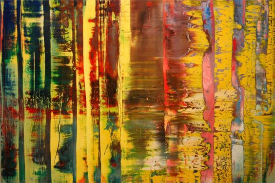 """""""Abstract Painting 780-1"""" (1992) by Gerhard Richter"""