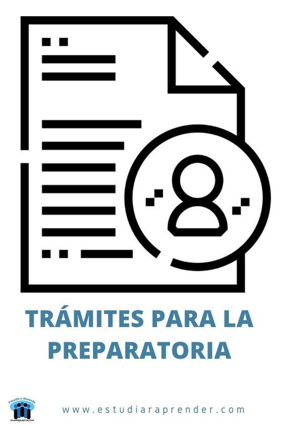 documentos para hacer el tramite a la preparatoria