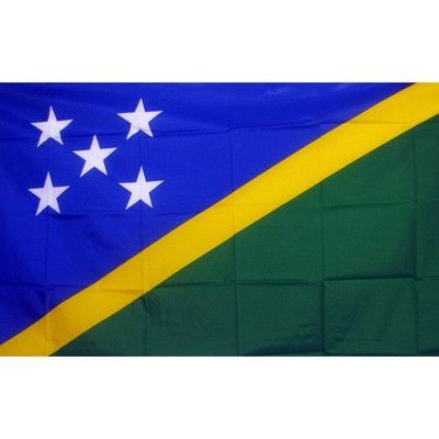 NeoPlex Soloman Islands Country Traditional Flag