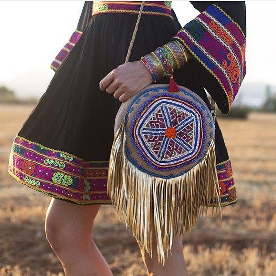 Amazing Suki Bag in #ibizarocksme @anavide ❤️❤️❤️#worldfamilyibiza #bags #handmade #fringes #goldfringes #ibiza #InstaSize #iloveibiza #ibizaspirit #ibizafashion #bohostyle #bohemianstyle