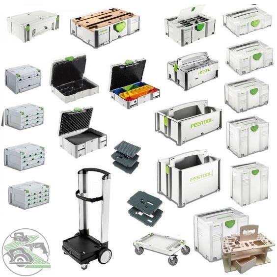 Festool Festo Tanos Systainer 1- 2 - 3 - 4 - 5 TLoc Sortainer Mini HWZ Rollbrett in Heimwerker, Werkstattausrüstung, Werkzeugkoffer | eBay