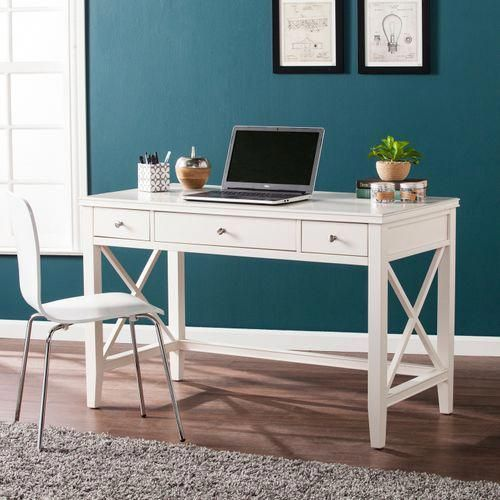 Robeson White Writing Desk Pier 1 Imports With Images White