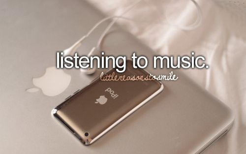 I love music. I have not idea what on earth I would do if I ever was deaf...
